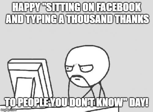 Funny thanks facebook for wishes birthday [FACEBOOK] How