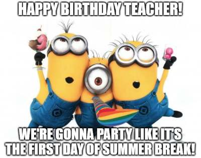 20 Funny Birthday Wishes For Teachers Funny Birthday Wishes